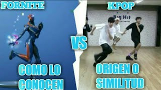 ORIGIN OF FORTNITE BAILES ? FORTNITE IN REAL LIFE BAILES ( RESUBIDO VIDEO )