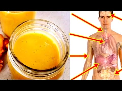 If You Mix Ginger With Turmeric, And Coconut Milk And Drink Before Bed!