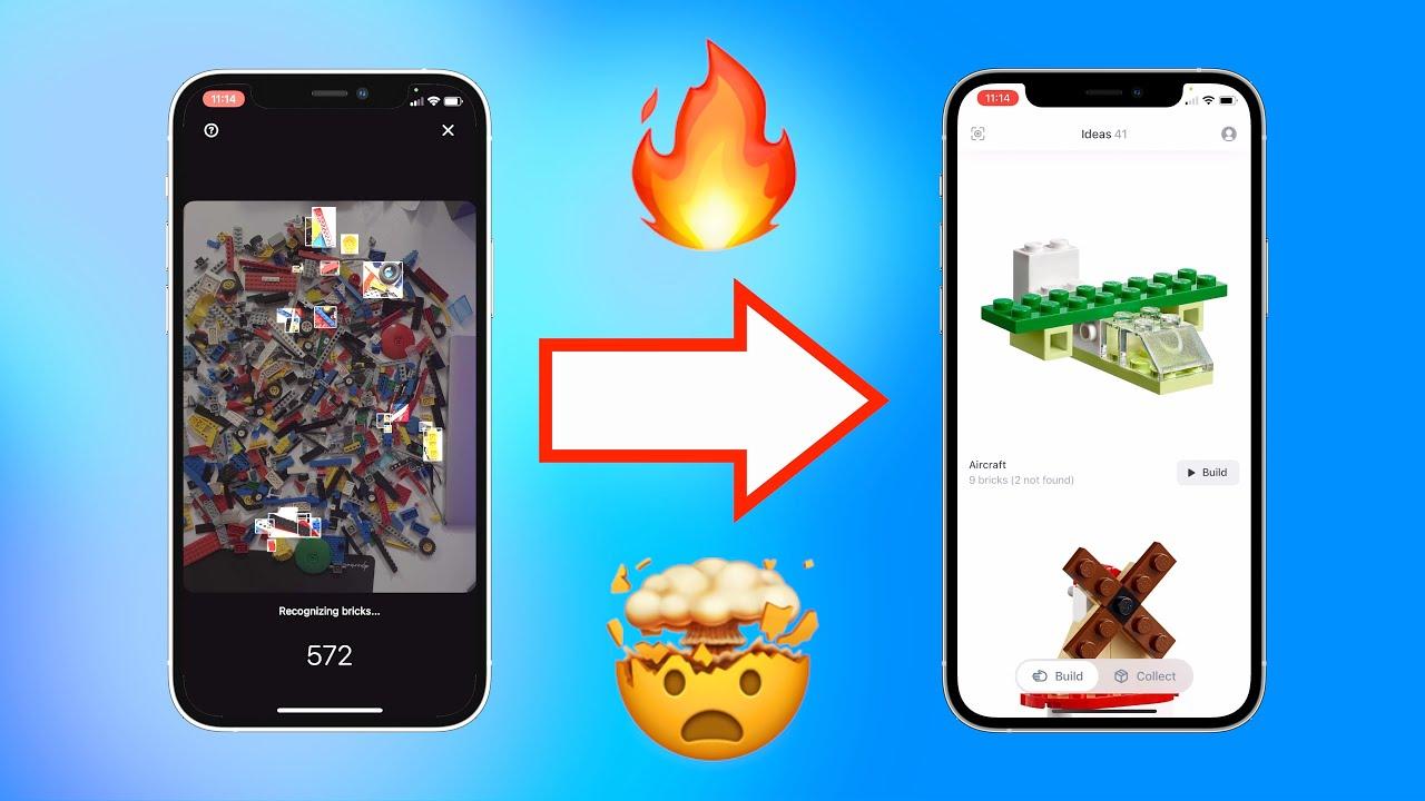 App scannt Lego per Foto und erstellt neue Sets! 🤯