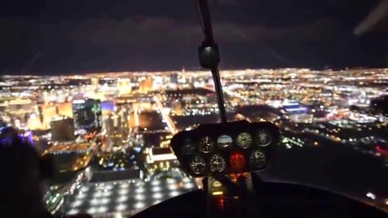 Las Vegas Helicopter Night Tour  YouTube