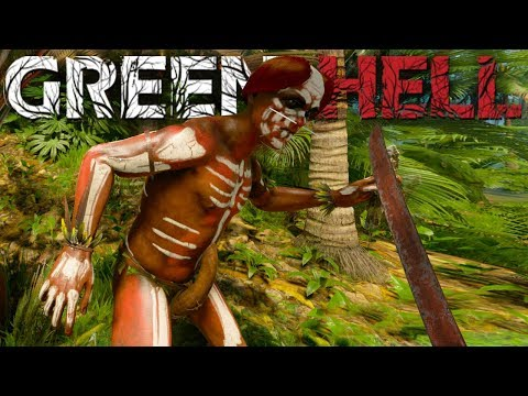 Green Hell - Giant Tribe Attacks! - The Hidden Grail - Green Hell Gameplay