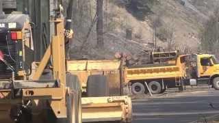 Canyon Creek Complex Fire - Oregon DOT hazard tree removal