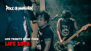 Peace Or Annihilation - Life Lock - HD Quality Live Music Video
