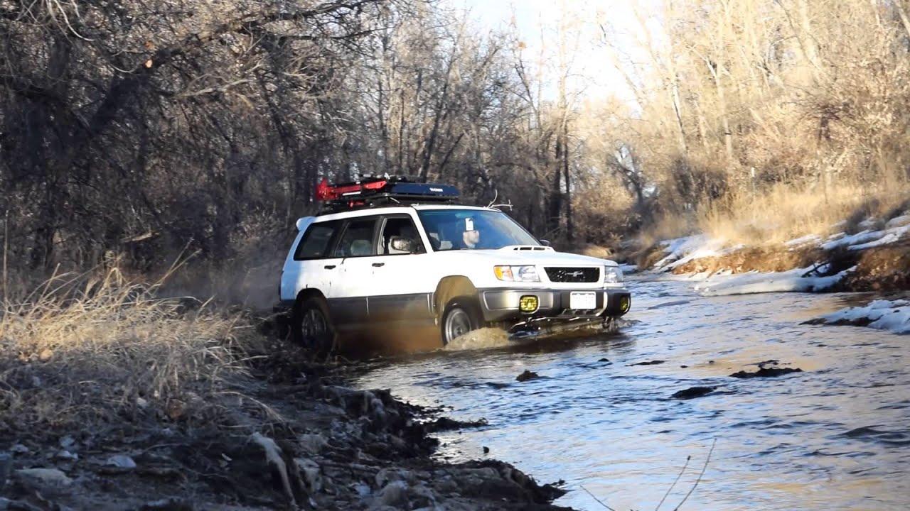lifted subaru forester river crossing sumo parts youtube lifted subaru forester river crossing sumo parts