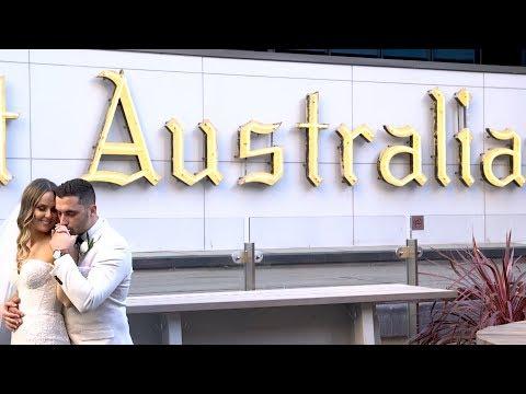 Kassandra & Matt's Perth Wedding Video Highlights St Michael the Archangel Joondalup Resort