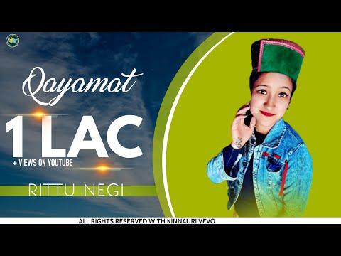 QAYAMAT vol.1 | New Kinnauri Song ( 2019 ) | Voice Of Ritu Negi | Kinnauri VEVO