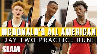 Nico Mannion RUNNING THE SHOW in McDonald's All American Day 2 Practice‼ 🍔