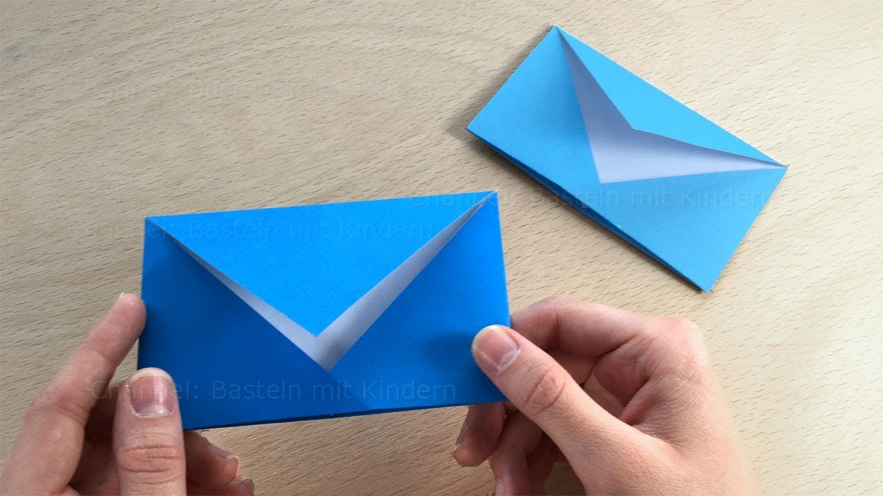 Origami Envelope Tutorial For Origami Envelopes