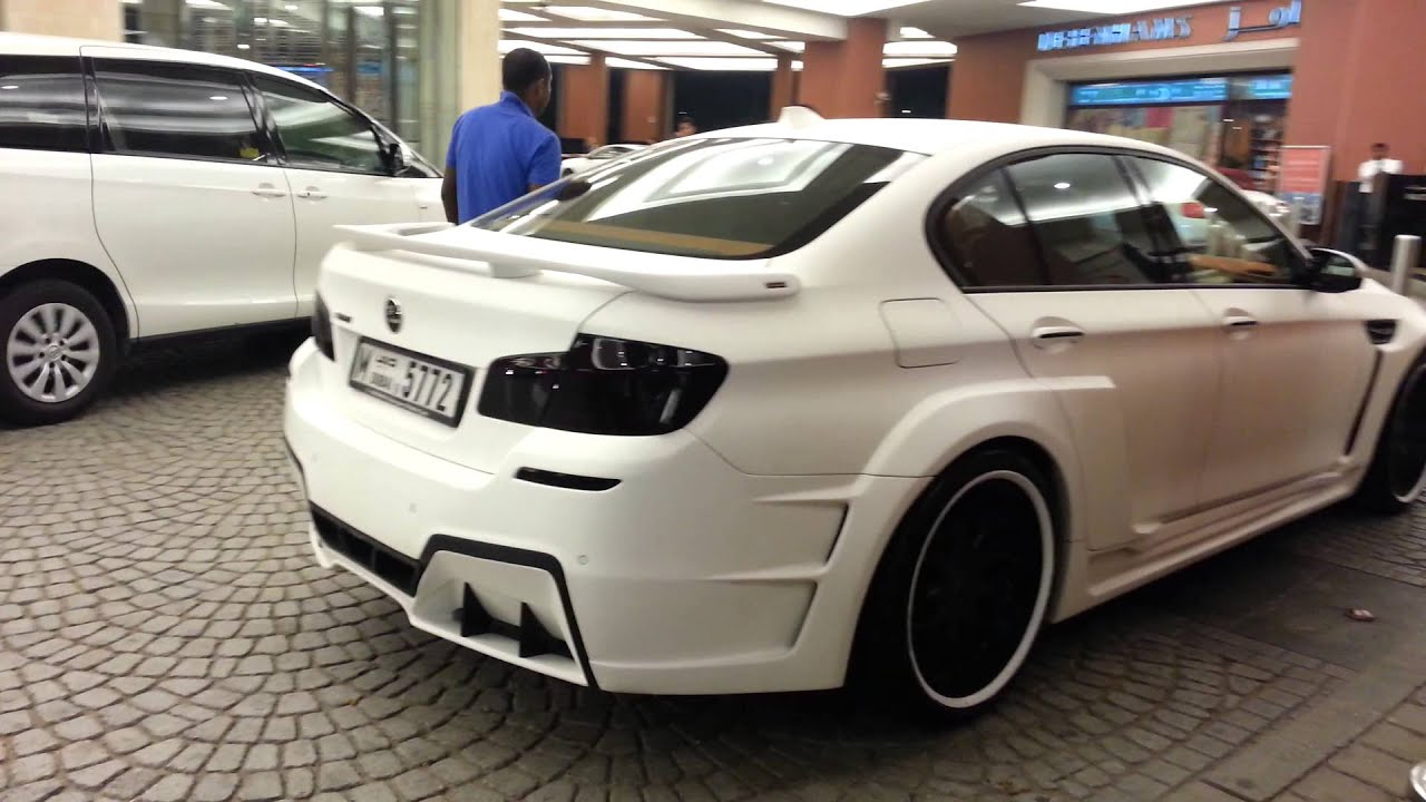 Bmw M5 F13 Hamann Tuning In Dubai Youtube
