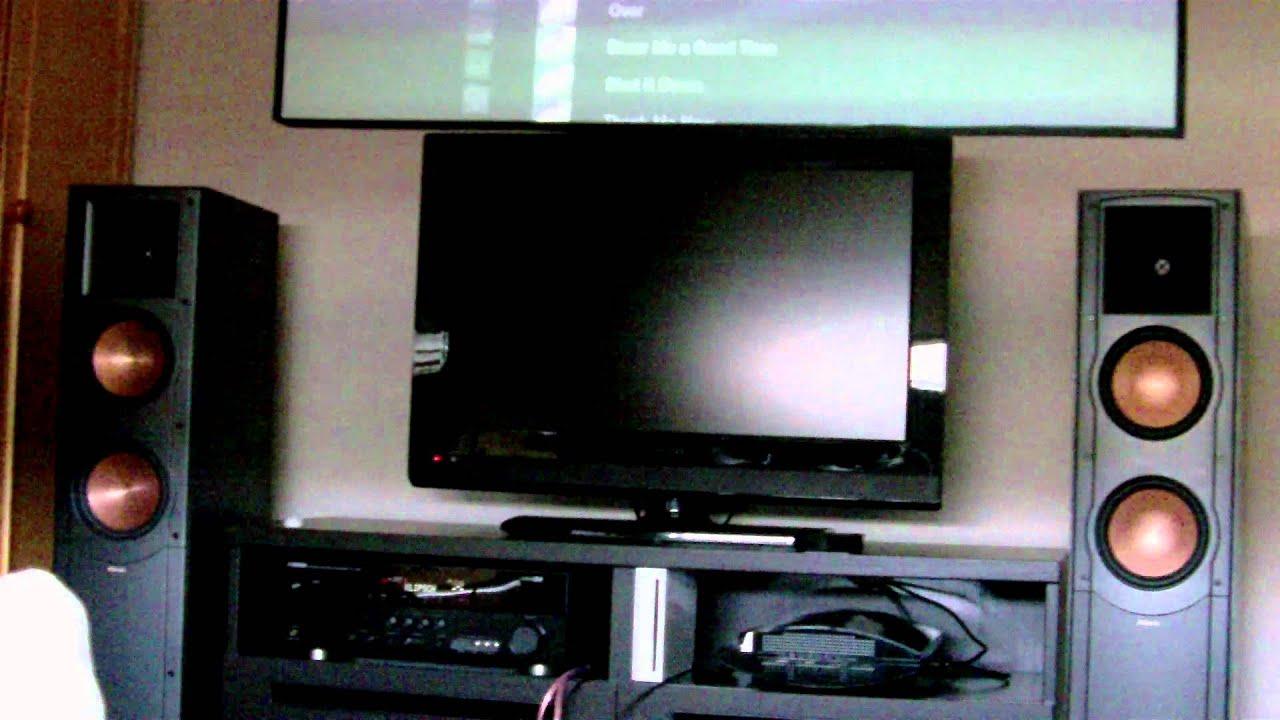 klipsch rf 62 ii sound youtube. Black Bedroom Furniture Sets. Home Design Ideas