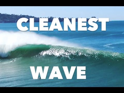 Clean Surf At Blacks Beach DJI DRONE K January YouTube - Surfing inside 27 second long barrel wave