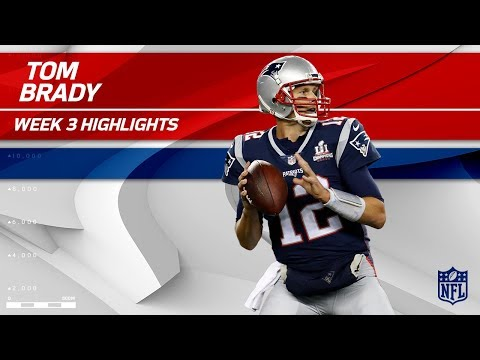 Tom Brady Highlights vs. Houston | Texans vs. Patriots | Wk 3 Player Highlights