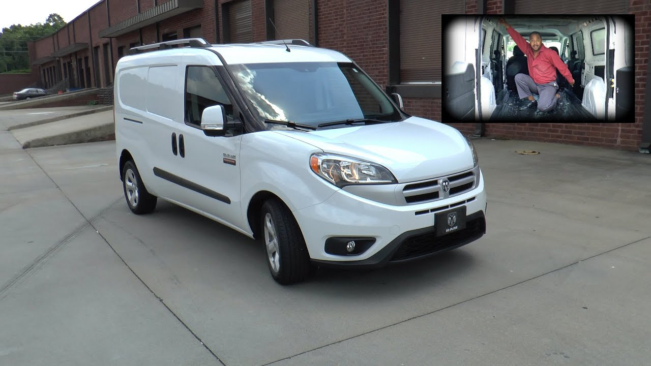 Ram Promaster City Slt Cargo Van Review Small But W