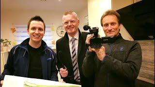 Verway AG - Überraschungsbesuch bei Bronze Manager Simeon Wilhelm    Ilhan Dogan
