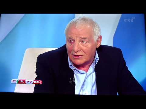 "Dunphy & Sadlier heated argument about Irelands ""aggression"""