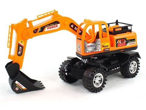 Animated Car for Children  - Crane baggage , cargo , fuel , concrete to build high-rise