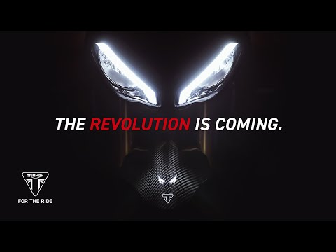 All-New Speed Triple 1200 RS - The Revolution is Coming