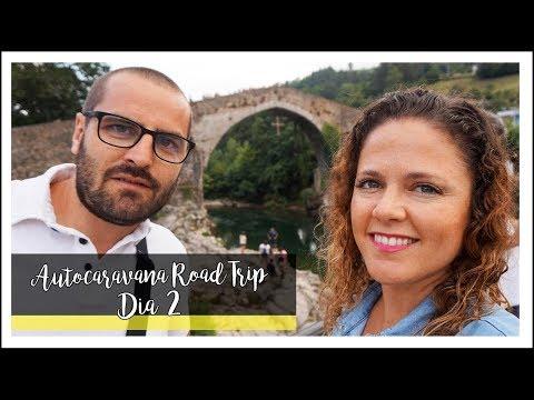 """AUTOCARAVANA ROAD TRIP · DÍA 2 · """"CARAVANA TOUR"""" & LAGOS DE COVADONGA & CASI NO LO CONTAMOS"""