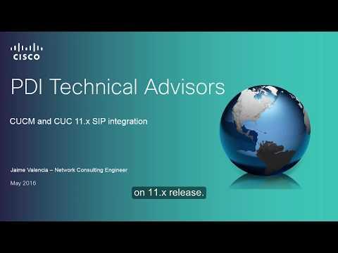 How To Configure CUCM-CUC SIP Integration