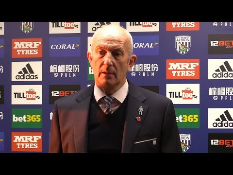 West Brom 2-3 Manchester City - Tony Pulis Full Post Match Press Conference - Premier League