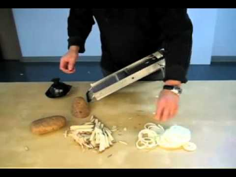 MIU Professional Stainless Steel Mandoline Slicer