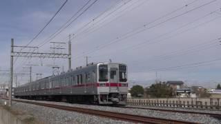 東武10030系11433F南栗橋~栗橋通過