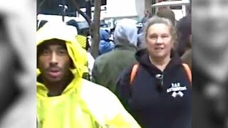 2Pac Tupac Shakur spotted on the News with Yellow Raincoat?