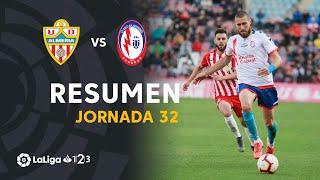 Resumen de UD Almería vs CF Rayo Majadahonda (2-2)