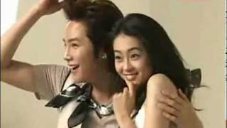 2008 in Korea, Jang Geun-Suk, his CM(CF) making with Korean actress...