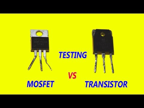MOSFET vs Transistor Testing Difference