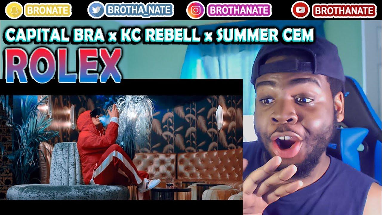 CAPITAL BRA, KC REBELL & SUMMER CEM ROLEX REACTION!!