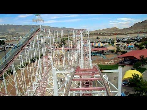 El Bandido front seat on-ride HD POV Western Playland