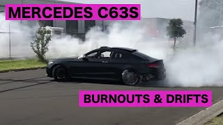 c63s BURNOUTS & DRIFTS HOW AN AMG IS DRIVEN DOWN UNDER 🇦🇺