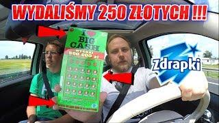 ZDRAPKI I ❤️ BIG CASH ZA 250 ZŁOTYCH - ILE WYGRALIŚMY ?
