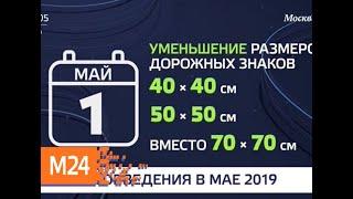 Смотреть видео Как изменится жизнь россиян с мая - Москва 24 онлайн