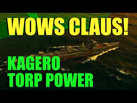 WOWs - Kagero Torpedo Power | World of Warships