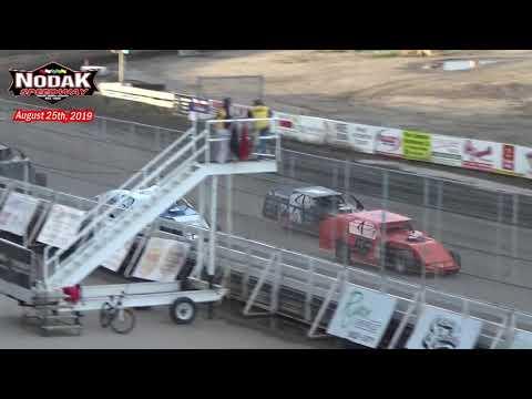 Nodak Speedway IMCA Modified Heats (8/25/19)