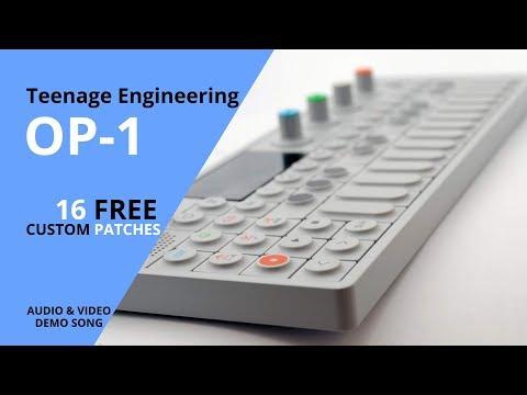 Teenage Engineering OP1 - demo song by Alba Ecstasy