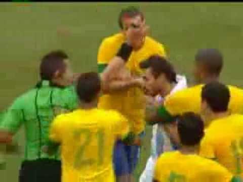 Brasil 3 X 4 Argentina ( 09-06-2012 )