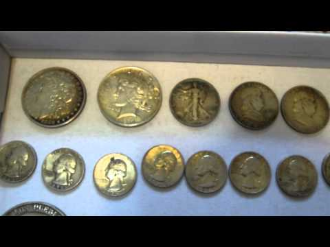 Garage Sale Picking Haul: Coins, Silver and Gold Scrap, Video Games, Knives and More! #006