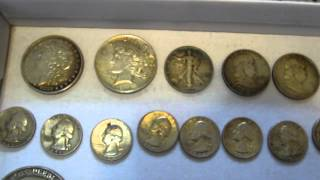 Garage Sale Picking Haul: Coins, Silver and Gold Scrap, Video Games, Knives and More! #006(This is a video detailing my picking at
