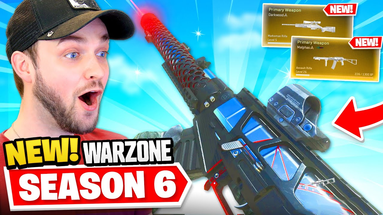 *NEW* Warzone SEASON 6 - EVERYTHING NEW! (Guns, Map Changes + MORE)