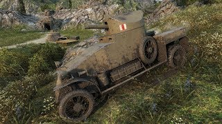 World of Tanks Light Mk. VIC (Lanchester Armored Car remodel by Milky) - Mines