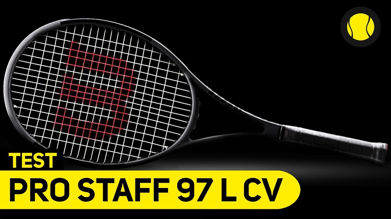 wilson pro staff 97 l countervail racket test tennis. Black Bedroom Furniture Sets. Home Design Ideas
