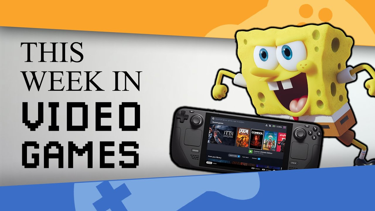 Steam Deck, Nickelodeon All Star Brawl and Tom Clancy's XDefiant | This Week In Videogames