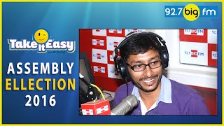 RJ Balaji Take It Easy (Assembly Election 2016) | RJ Balaji (04 April 2016)