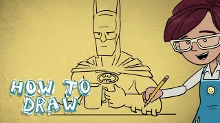 How To Draw - Super Cafe Batman