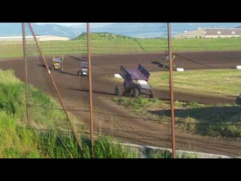 June 3, 2016 Gallatin Speedway Heat Race