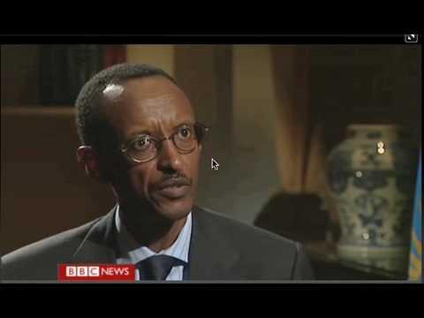 Paul Kagame,President of Rwanda Pt 1