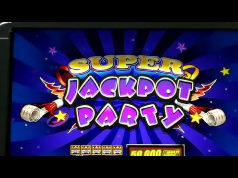 ★JACKPOT PARTY CASINO FRIDAY!★ RAGING RHINO (SG/WMS) ★SLOT GAME REVIEW★